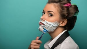 How To Avoid Facial Hair Growth When Hormones Act Up