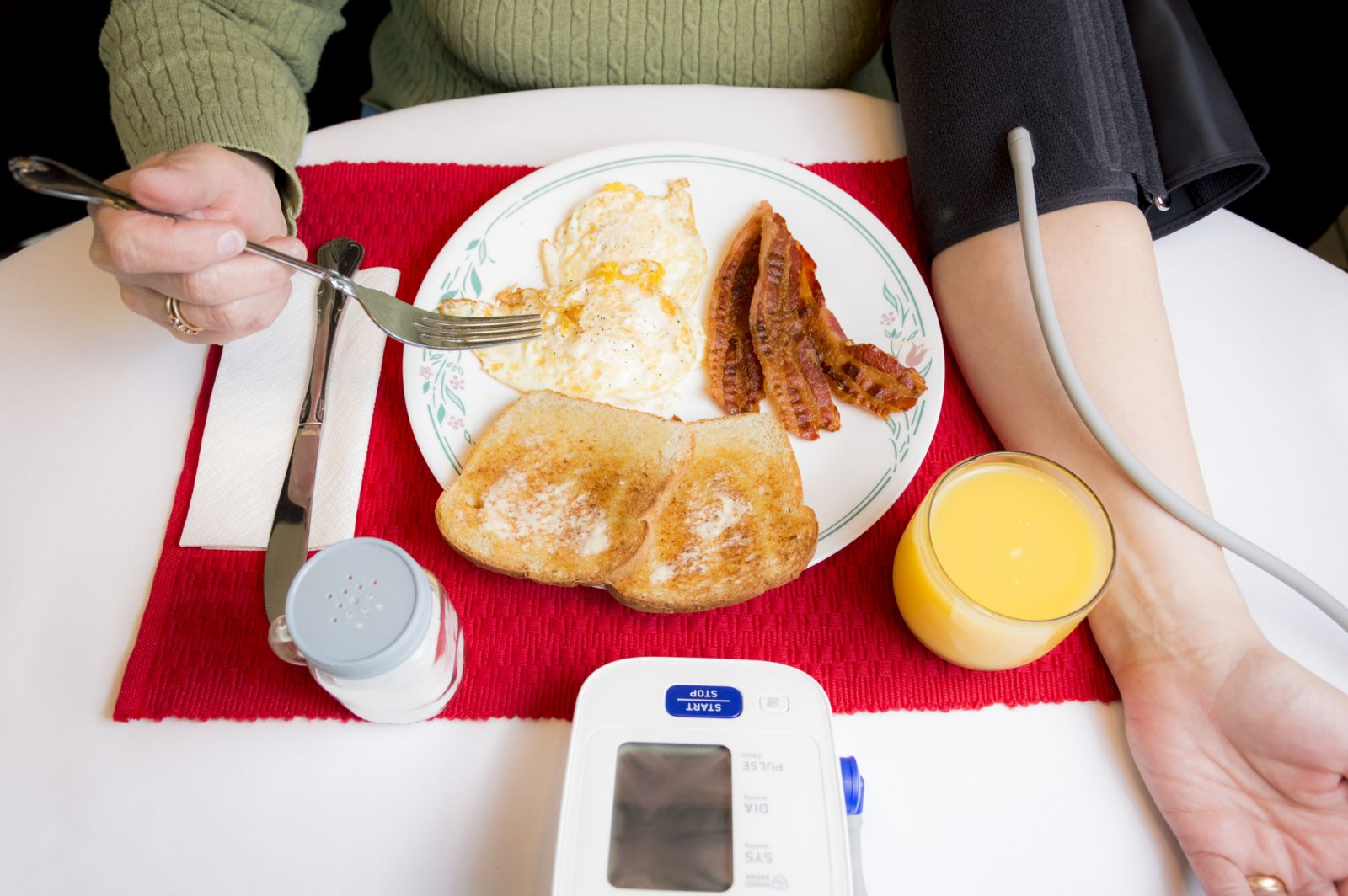 How Diet and Food Affect Your Blood Pressure